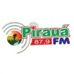 Logo da emissora Rádio Pirauá 87.9 FM