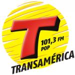 Logo da emissora Rádio Transamérica Pop 101.3 FM