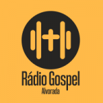 Logo da emissora Rádio Gospel Alvorada