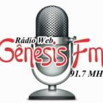 Logo da emissora Rádio Gênesis  FM