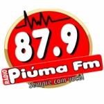 Logo da emissora Rádio Piúma 87.9 FM