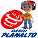 Logo da emissora Rádio Planalto 91.1 FM