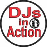 Logo da emissora DJs in Action