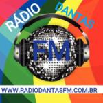 Logo da emissora Rádio Dantas FM