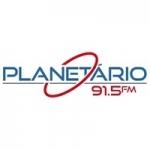 Logo da emissora Rádio Planetário 91.5 FM