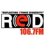 Logo da emissora Radio CKYR Red 106.7 FM