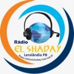 Logo da emissora Rádio El Shaday Lerolândia PB