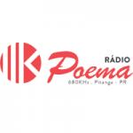 Logo da emissora Rádio Poema 680 AM