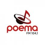 Logo da emissora Rádio Poema 104.1 FM