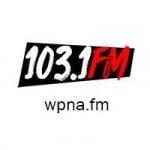 Logo da emissora Radio WPNA 103.1 FM