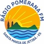 Logo da emissora Rádio Pomerana 98.5 FM