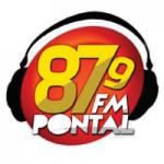 Logo da emissora Rádio Pontal 87.9 FM