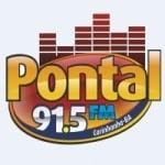 Logo da emissora Rádio Pontal 91.5 FM