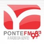 Logo da emissora Rádio Ponte 98.3 FM