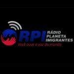 Logo da emissora Rádio Planeta Imigrantes