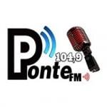 Logo da emissora Rádio Ponte 104.9 FM