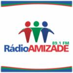 Logo da emissora Rádio Amizade 89.1 FM