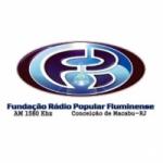 Logo da emissora Rádio Popular Fluminense 1580 AM