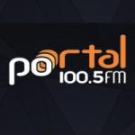 Logo da emissora Rádio Portal 100.5 FM