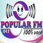 Logo da emissora Rádio Popular 104.9 FM