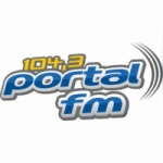 Logo da emissora Rádio Portal 104.3 FM