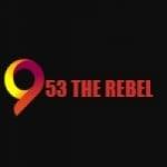 Logo da emissora The Rebel 95.3 FM