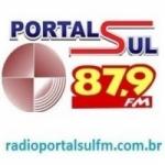 Logo da emissora Rádio Portal Sul 87.9 FM