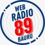 Logo da emissora Web Rádio 89 Bauru
