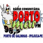 Logo da emissora Rádio Porto Mar 98.5 FM
