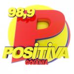 Logo da emissora Rádio Positiva 98.9 FM