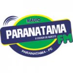 Logo da emissora Rádio Paranatama 87.9 FM