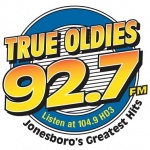 Logo da emissora True Oldies 92.7 FM