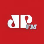 Logo da emissora Rádio Jovem Pan 105.7 FM