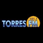 Logo da emissora Rádio Torres 101.1 FM