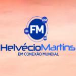 Logo da emissora Rádio FM Helvécio Martins