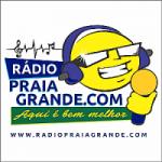 Logo da emissora Rádio Praia Grande