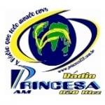 Logo da emissora Rádio Princesa 820 AM