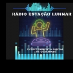 Logo da emissora Rádio Estação Lunnar