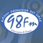 Logo da emissora Rádio Princesa do Vale 98.7 FM