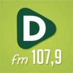 Logo da emissora Rádio Difusora 107.9 FM