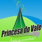 Logo da emissora Rádio Princesa do Vale 87.9 FM