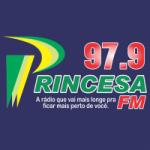 Logo da emissora Rádio Princesa 97.9 FM