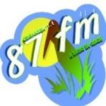 Logo da emissora Rádio Pró Guaramirim 87.9 FM