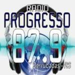 Logo da emissora Rádio Progresso 87.9 FM