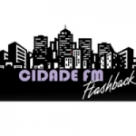 Logo da emissora Rádio Cidade Flash Back
