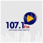 Logo da emissora Rádio 107 FM Pinda