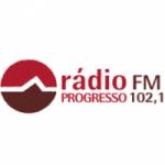 Logo da emissora Rádio Progresso 102.1 FM
