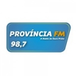 Logo da emissora Rádio Província 98.7 FM
