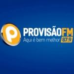 Logo da emissora Rádio Provisão 87.9 FM