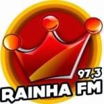 Logo da emissora Rádio Rainha 97.3 FM